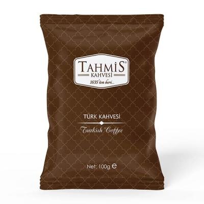 Tahmis - 10'lu Türk Kahvesi Orta Kavrulmuş 100 Gram Paket Seti
